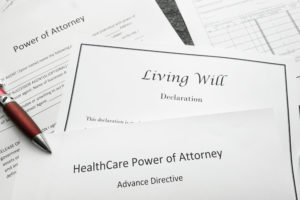 Living Will and Power of Attorney documents